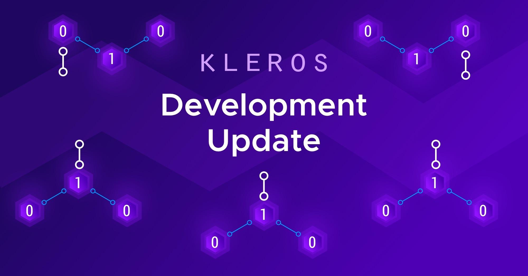 Kleros Development Update: April 2020