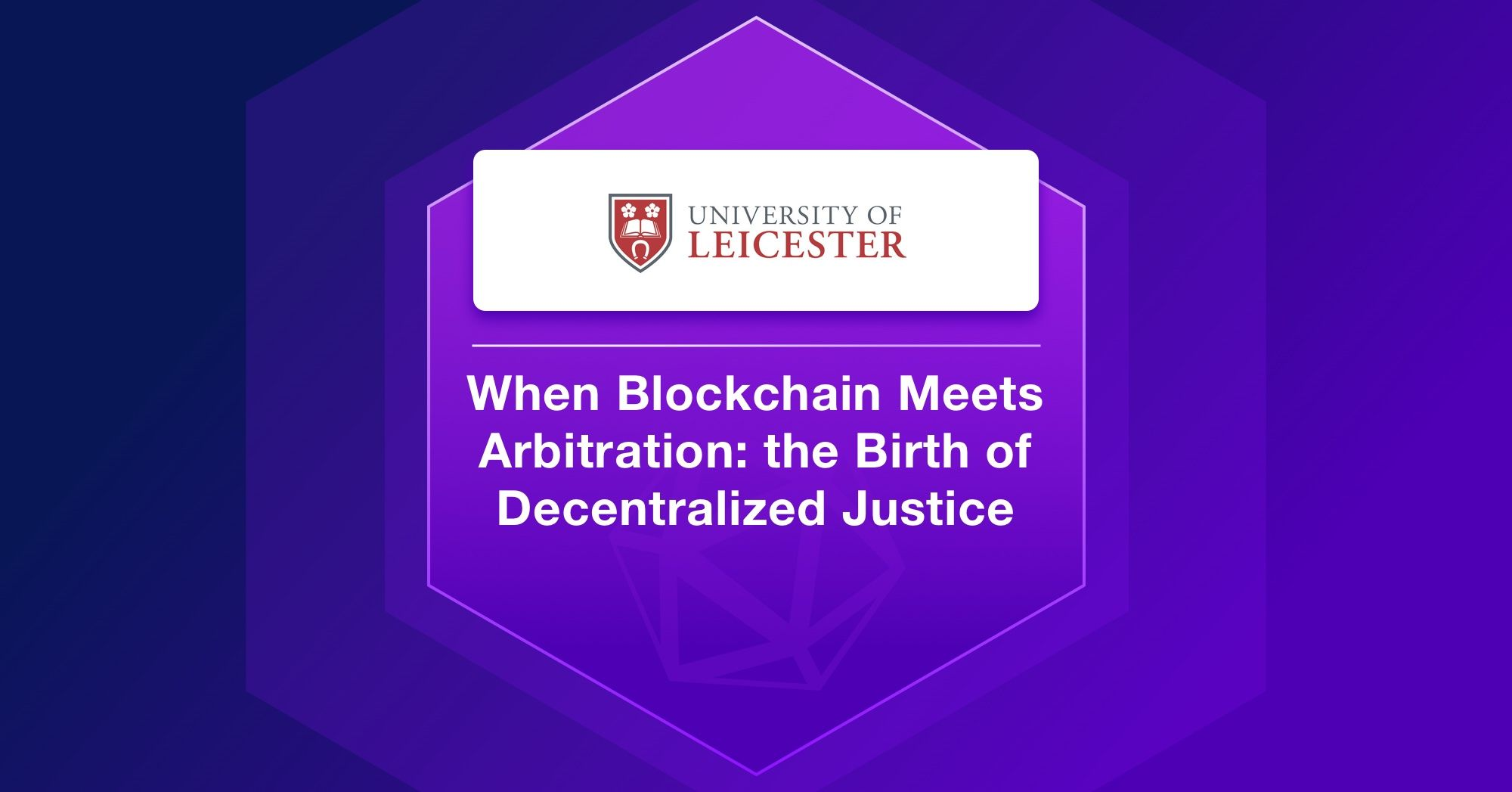 When Blockchain Meets Arbitration: the Birth of Decentralized Justice