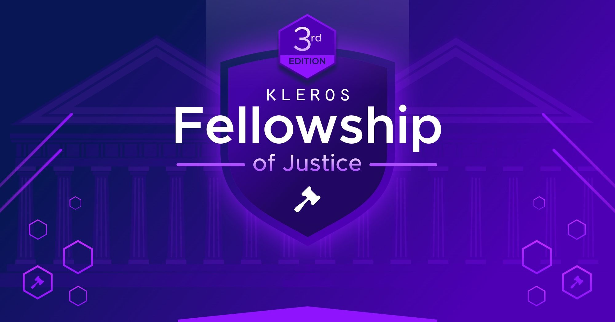 The Kleros Fellowship of Justice: Introducing the Third Generation