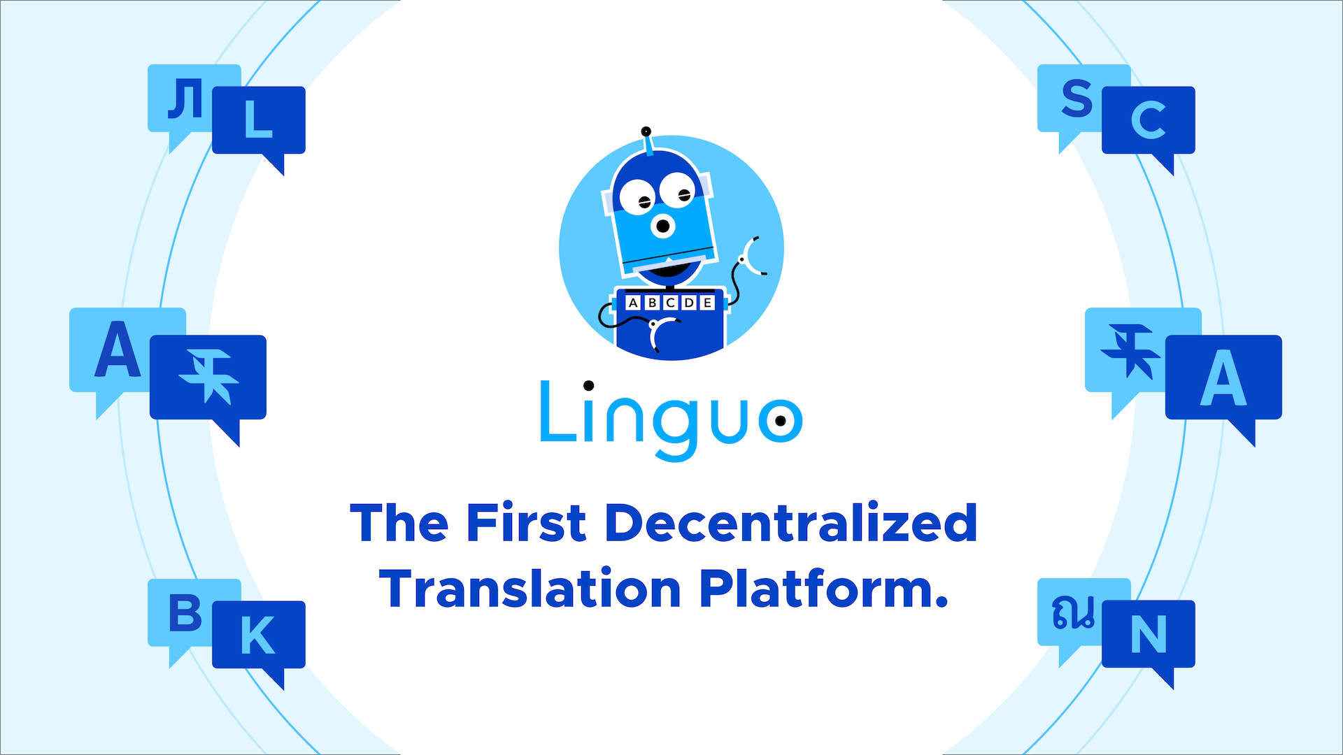 Linguo - The First Decentralized Translation Platform.