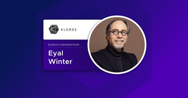 Eyal Winter: On Game Theory, Decentralized Justice and Kleros