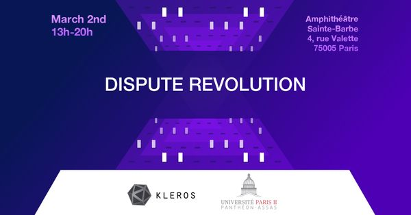 The Dispute Revolution Conference: Decentralized Justice Takes Over Paris