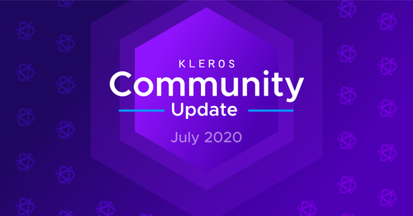 Kleros Community Update - July 2020