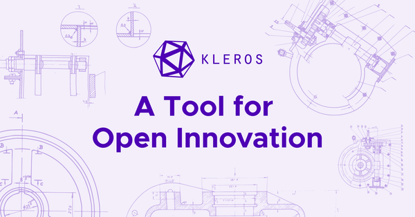 Kleros as a Tool for Open Innovation