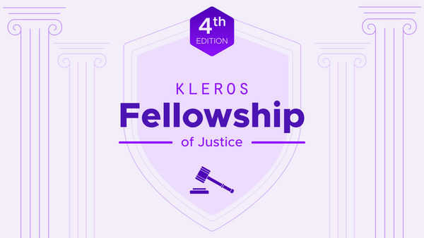The Kleros Fellowship of Justice, 4th Generation: Applications Open