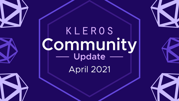 Kleros Community Update - April 2021